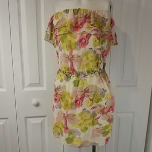 J. CREW Strapless Versatile Fun Spring Dress